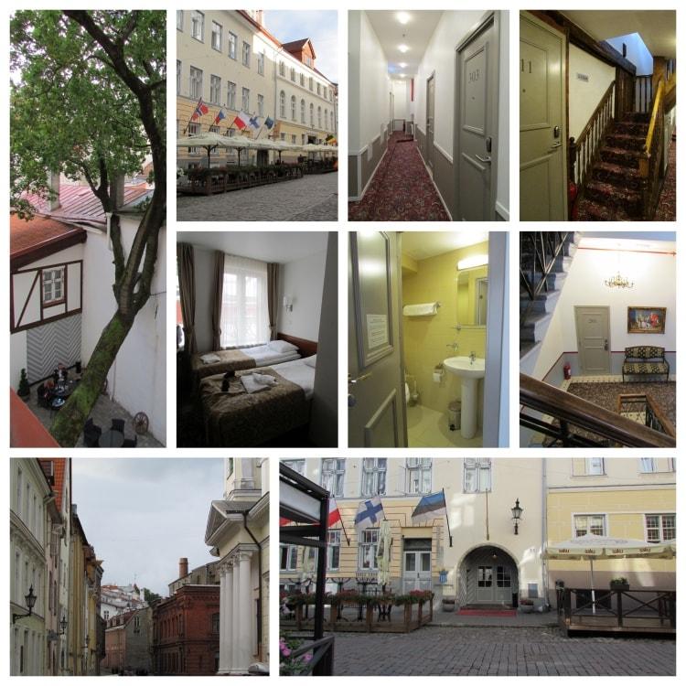 Three Crowns Residents -hotelli Tallinnan vanhassakaupungissa.