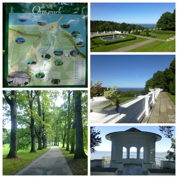 Kylpylän vierestä alkavaa Orun puistoa sanotaan Baltian kauneimmaksi