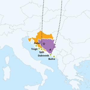 kroatian-rannikko-reitti-kiertomatkat