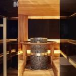 Spa–osaston sauna