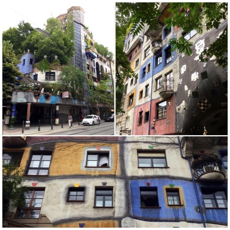 Harvassa paikassa on kaupungin vuokra-asuntoja niin hienossa talossa, kuin Hunderwasser Hausilla.