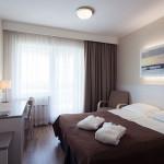 Standard huone parvekkeella