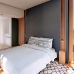 2 huoneen huoneiston makuuhuone