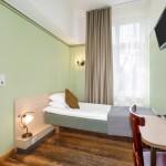 Koidulapark hotellin yhden hengen huone