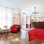 Koidulapark hotellin aula ja vastaanotto