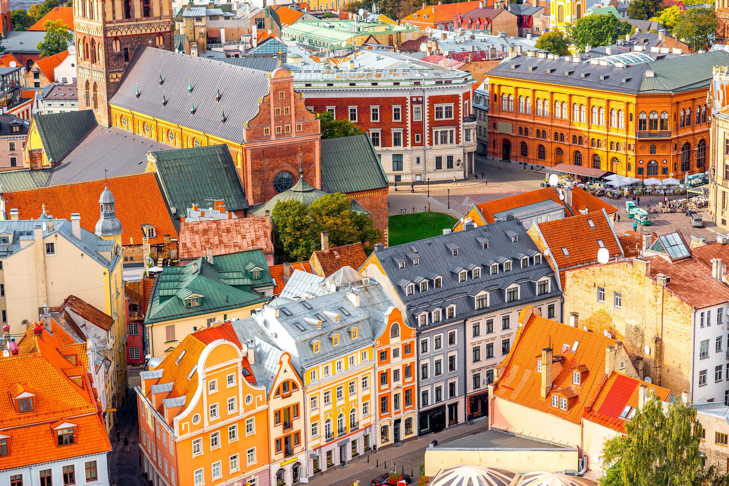 Kiehtovat vanhat kaupungit