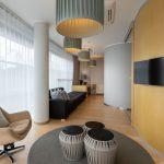 Estonia Resortin sviitin oleskelutila