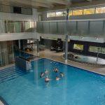 Medical Span allasosasto, ihmisiä uimassa