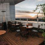 Viru hotellin KGB Rooftop -baarin terassi