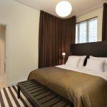 Hedon Span sviitin makuuhuone