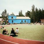 Urheilukenttä Lottemassa
