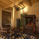 makuuhuone Bauskan linnassa