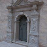Ovi Bauskan linnassa