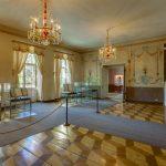Cesisin linnan näyttelytiloja