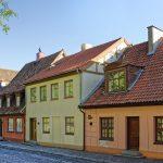 Taloja kadun varrella Klaipedassa