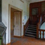Lielstrauben linnan sisätilojen portaat