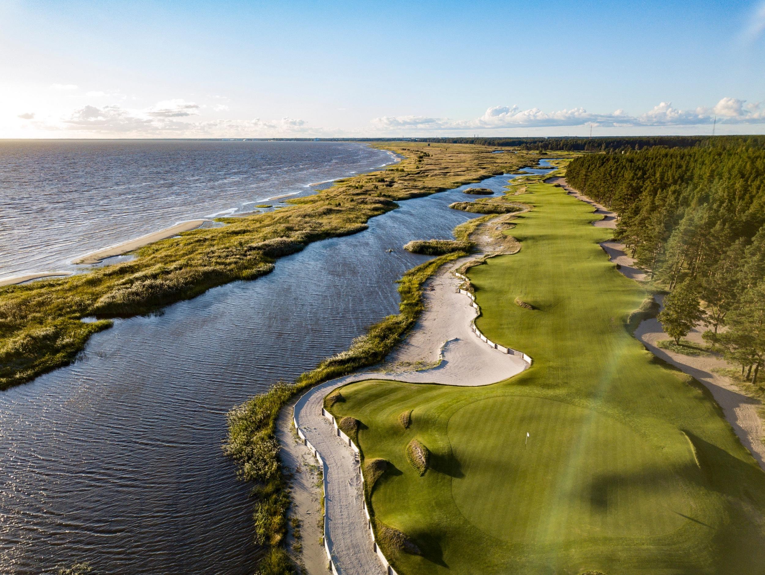 Golfaillen Viron ympäri