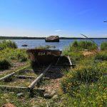 vene Altjan kalastajakylässä