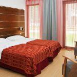 Sokos Hotel Bomban standard huone erillisillä vuoteilla