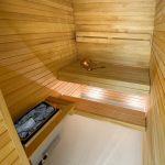 L'Embitu hotellin deluxe huoneen sauna