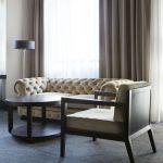 Comfort Hotel LT:n sviitin olohuone