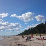 Valge rand lähellä Pärnua