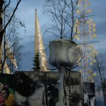 Taideinstallaatio Ruusulinna Oslossa