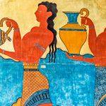 Kulkue Fresco Knossoksen palatsissa
