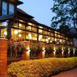 Villa Wessetin ravintolan terassi