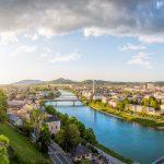 Panoramakuvaa Salzburgista