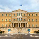 Syntagman aukiolla sijaitseva parlamenttitalo
