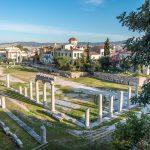 Antiikin aikaisen keskustan tori eli Agora