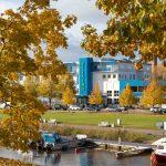 Viiking Spa katukuvassa syksyllä