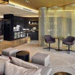 Executive huoneissa majoittuen huonehintaan sisältyy Executive Loungen käyttö