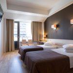 Standard huone erillisillä sängyillä