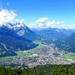Garmisch-Partenkirchen lintuperspektiivissä