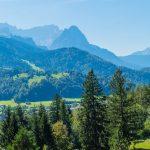 Panoramakuvaa Garmisch-Partenkirchenista