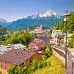 Yleiskuvaa Berchtesgadenin kylästä