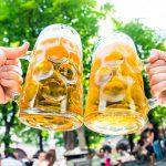 Oluttuoppien kilahtelua Saksassa