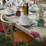 Kuva ravintolan pöydästä