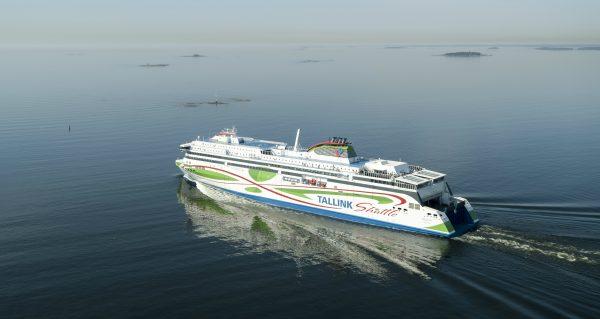 Tallink Megastar merellä