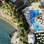 Candia Park Village hotelli yläilmoista kuvattuna