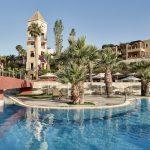 Hotellin uima-allas alue