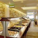 Kuva buffetpöydästä