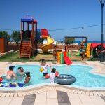 Lasten uima-allas ja leikkipaikka
