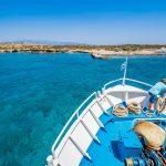 Vene purjestimassa kohti Chrissin saarta