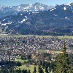 Ilmakuvaa Garmisch-Partenkirchenista