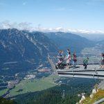 Näköaloja Zupitze vuorelta