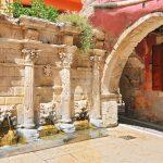 Rimondin suihkulähde, Rethymnon kaupungissa