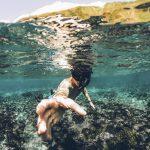 Mahtavat merenalaiset maisemat vangitsevat snorklatessa.
